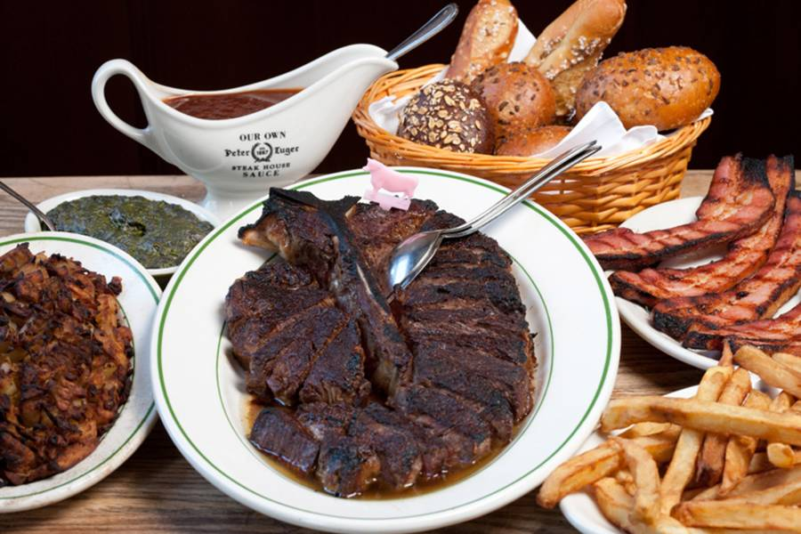 Peter Luger Steakhouse, bife
